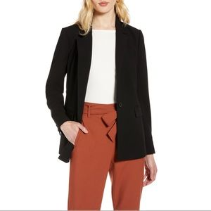 NWT Halogen Single Breasted Blazer